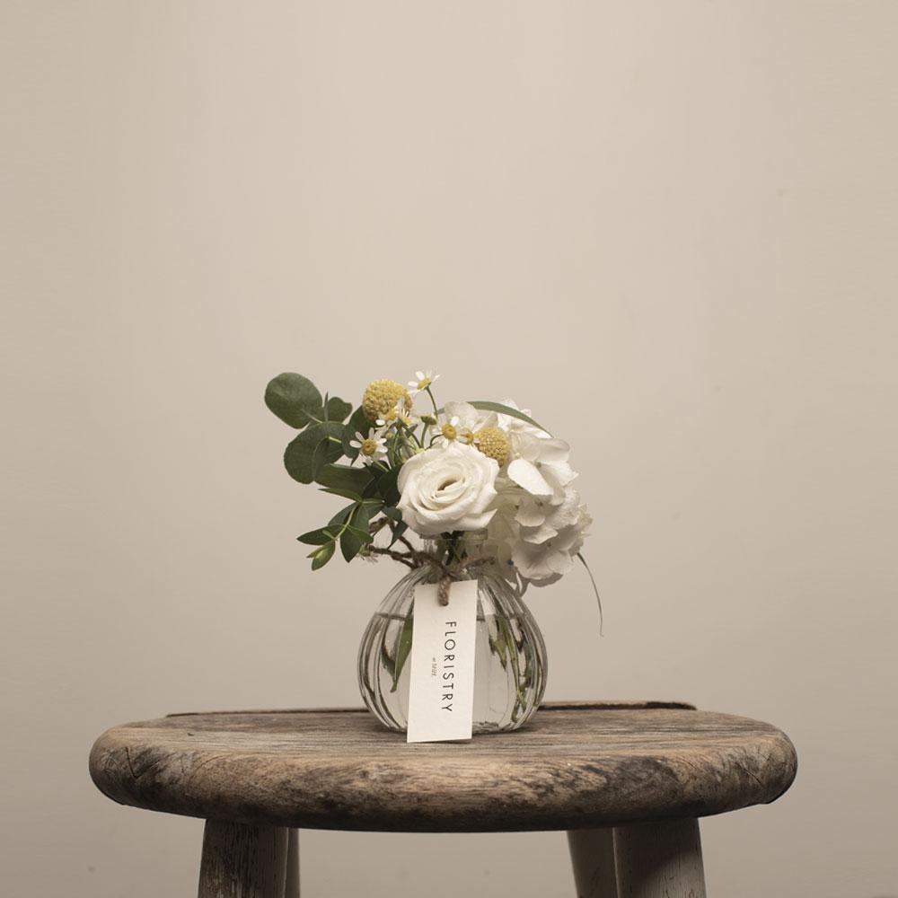 Two Roads Bud vase