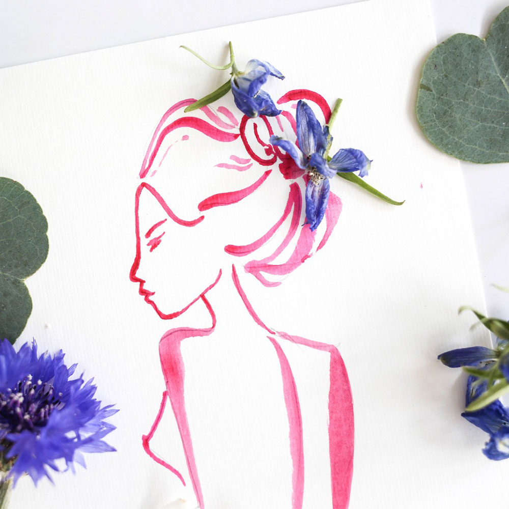 Floral FemaleLife Drawing - Saturday 25th May 2019, 6-8:30pm
