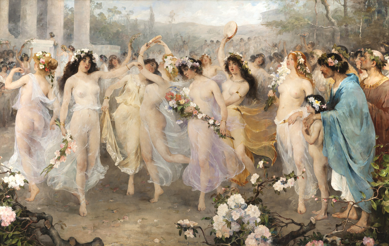 Floralia, 1898 by Hobbe Smith