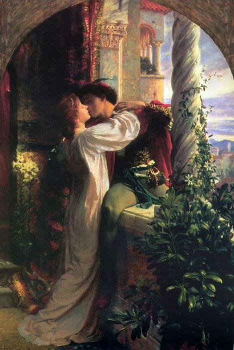 Romeo and Juliet by Sir Frank Francis Bernard Dicksee