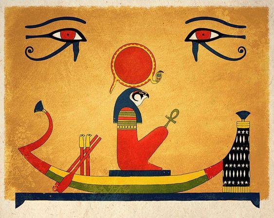 Ancient Egyptian Sun God Ra