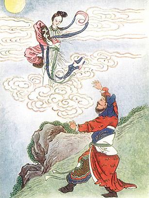 Chinese Sun Goddess Xihe