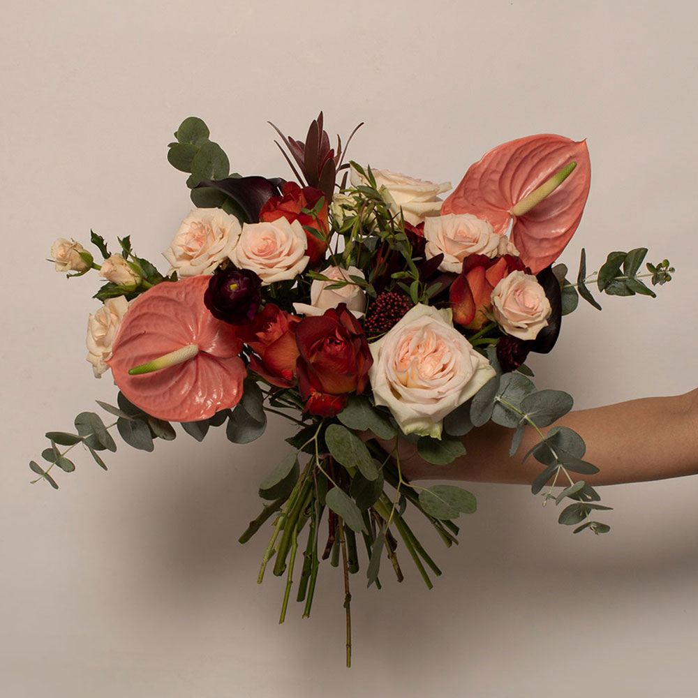 Type B - Bouquet with vase