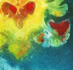 valentine, solar etching, 2010 (coronal view of the brain stem, cerebellum, and lateral ventricles).jpg