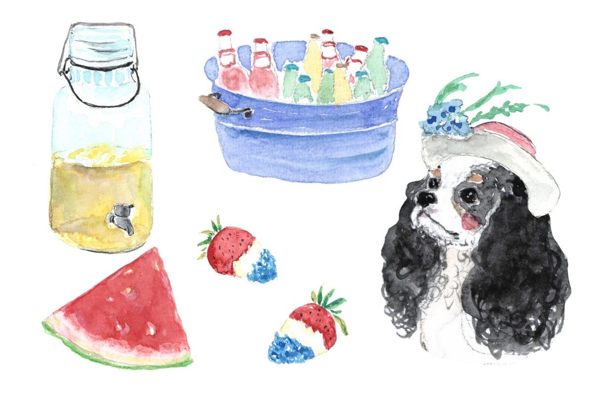 Agatha's Pet Wellness pet picnic graphic