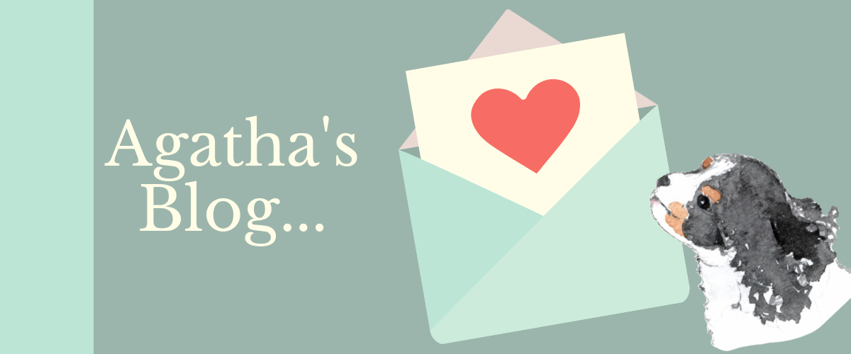 Latest blog post cute Agatha letter with heart