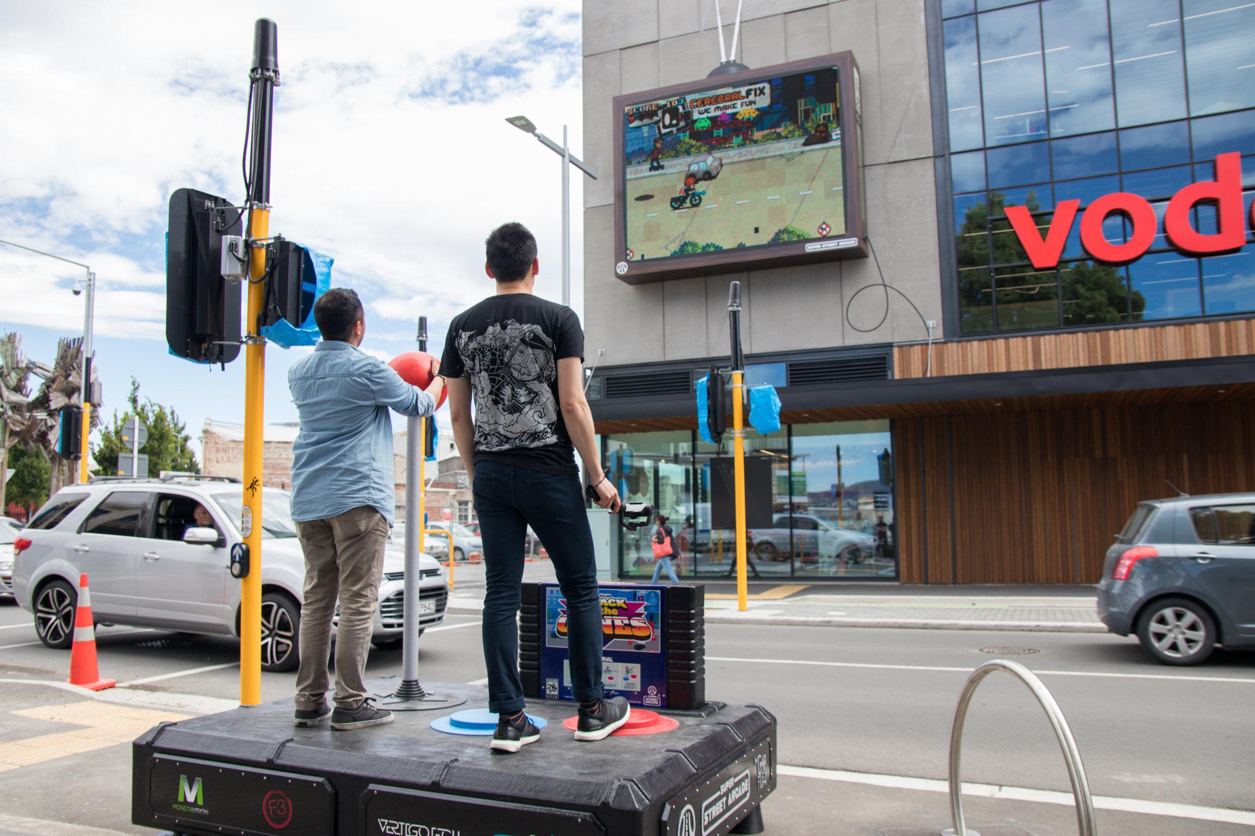 Gap Filler, Super Street Arcade (credit: Erica Austin 2015)