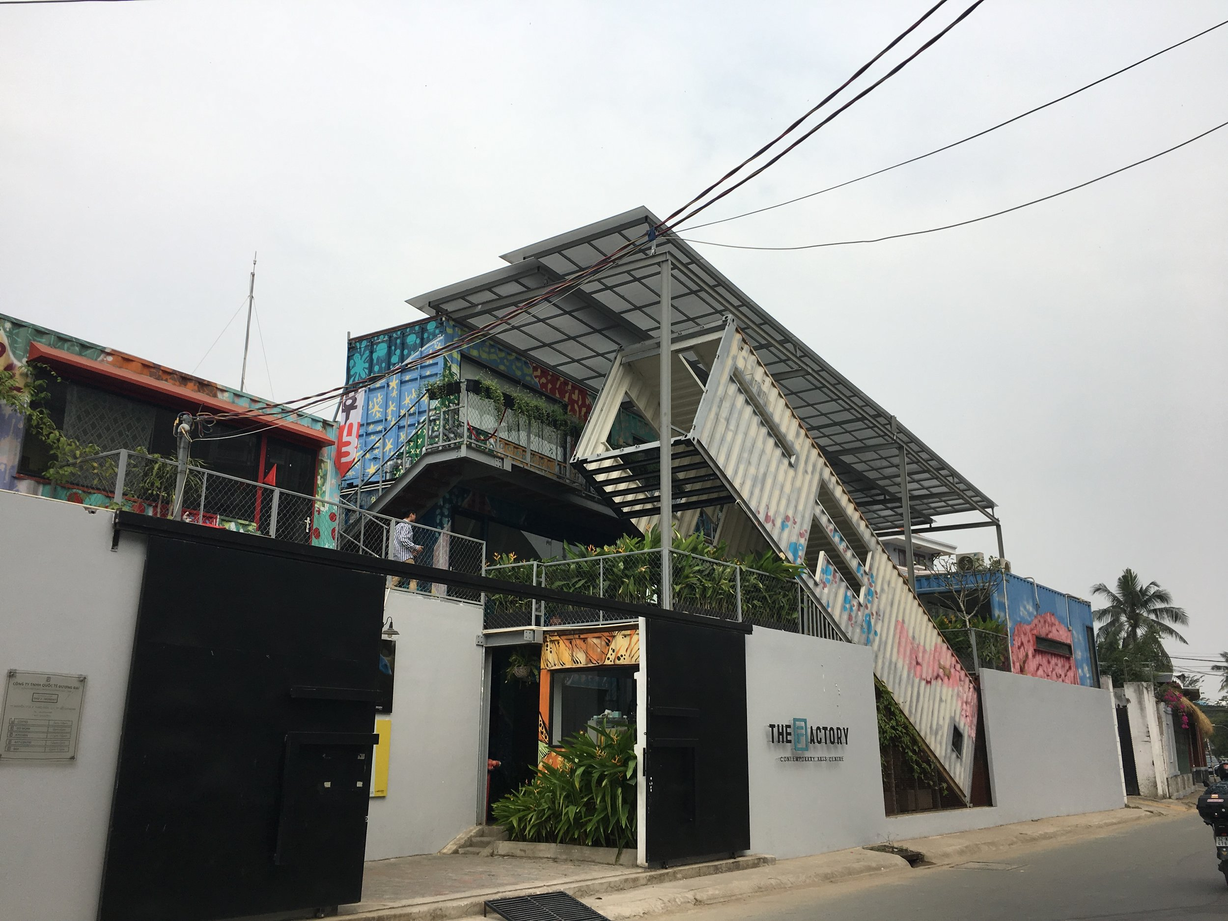 """The Factory aims to be a dynamic destination for art, designing innovative programs illustrating the criticality of Vietnam today.""  www.factoryartscentre.com"