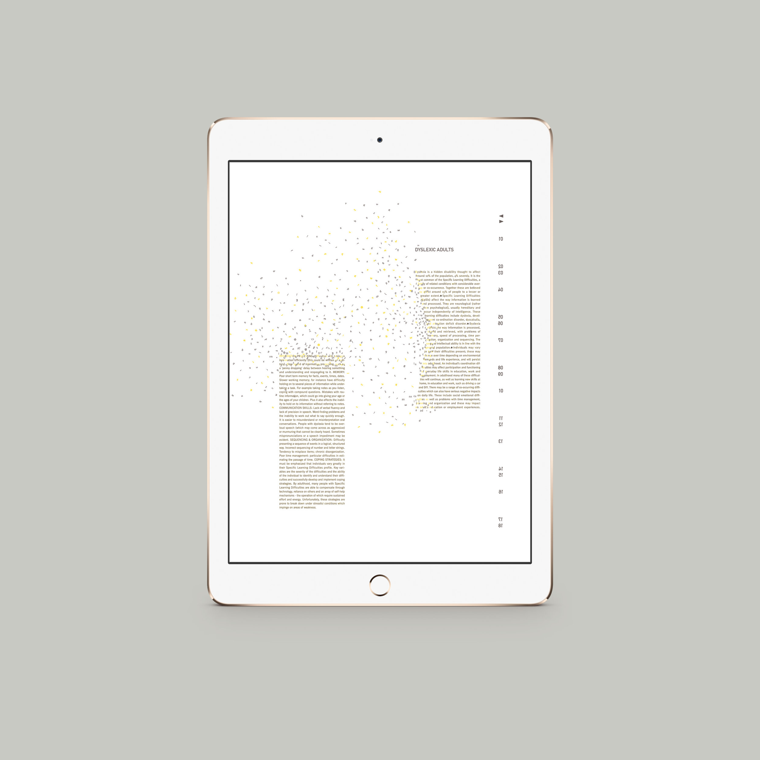 Confused Brilliance .Interactive Tablet Brochure