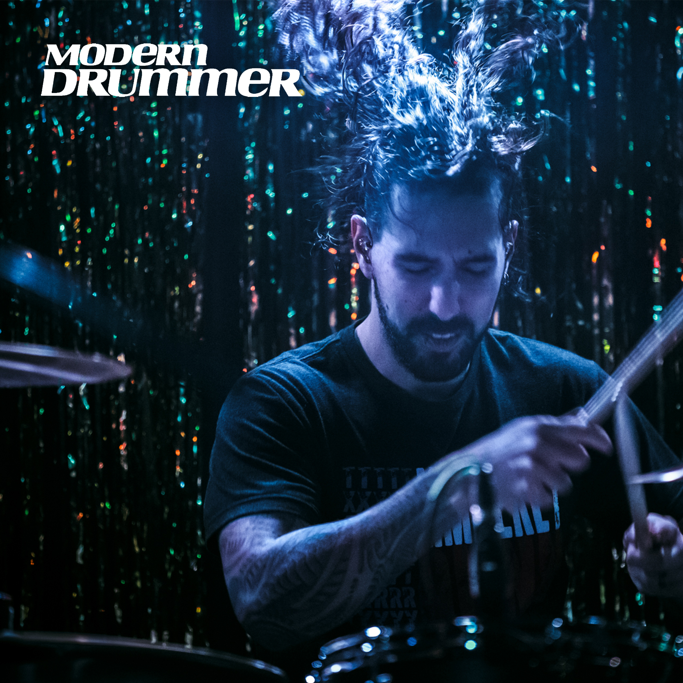 MODERN DRUMMER features Rom Gov - January 3rd, 2019