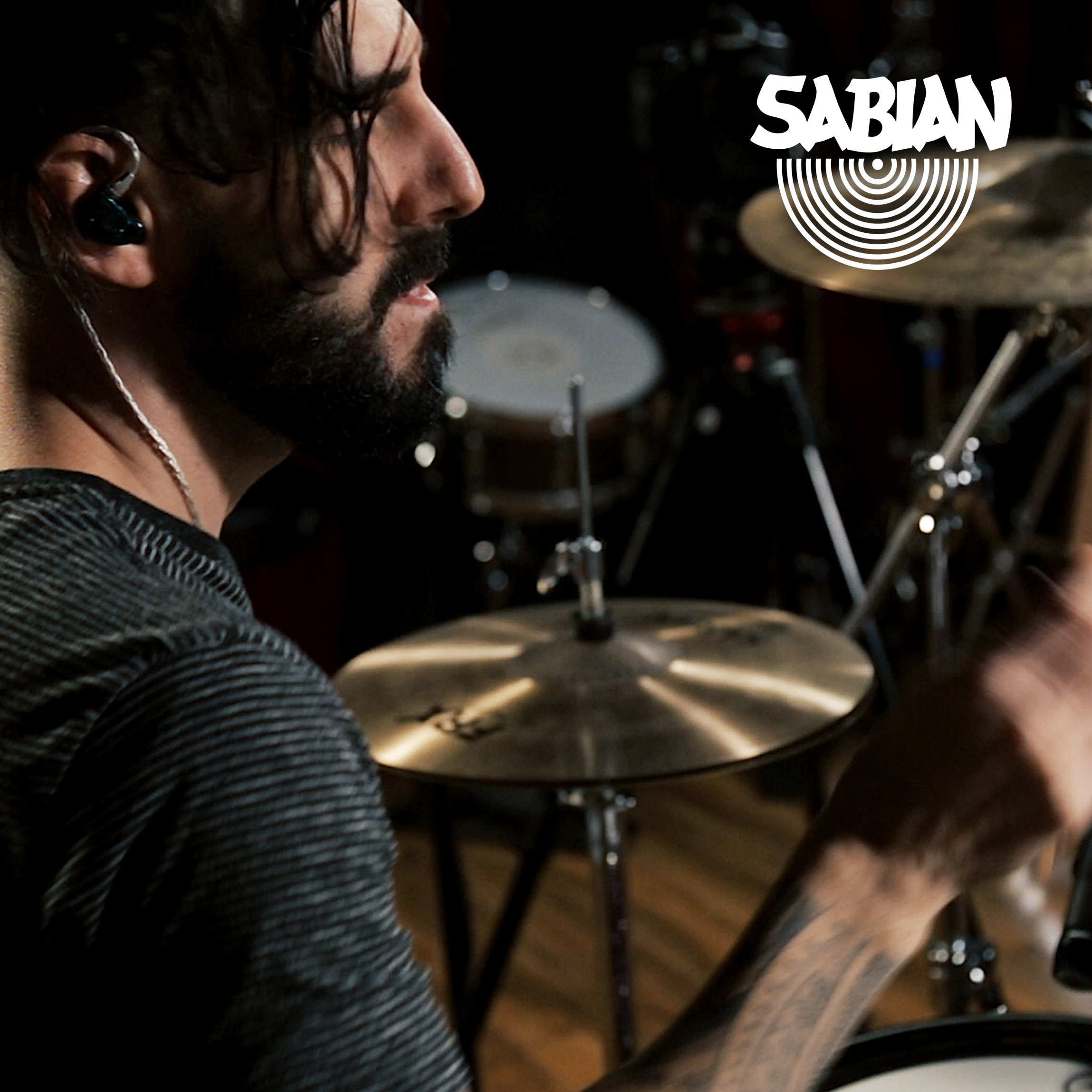 """SABIAN posts """"Drum Play-Through for new song """"Every Toll"""" - January 6th, 2019"""