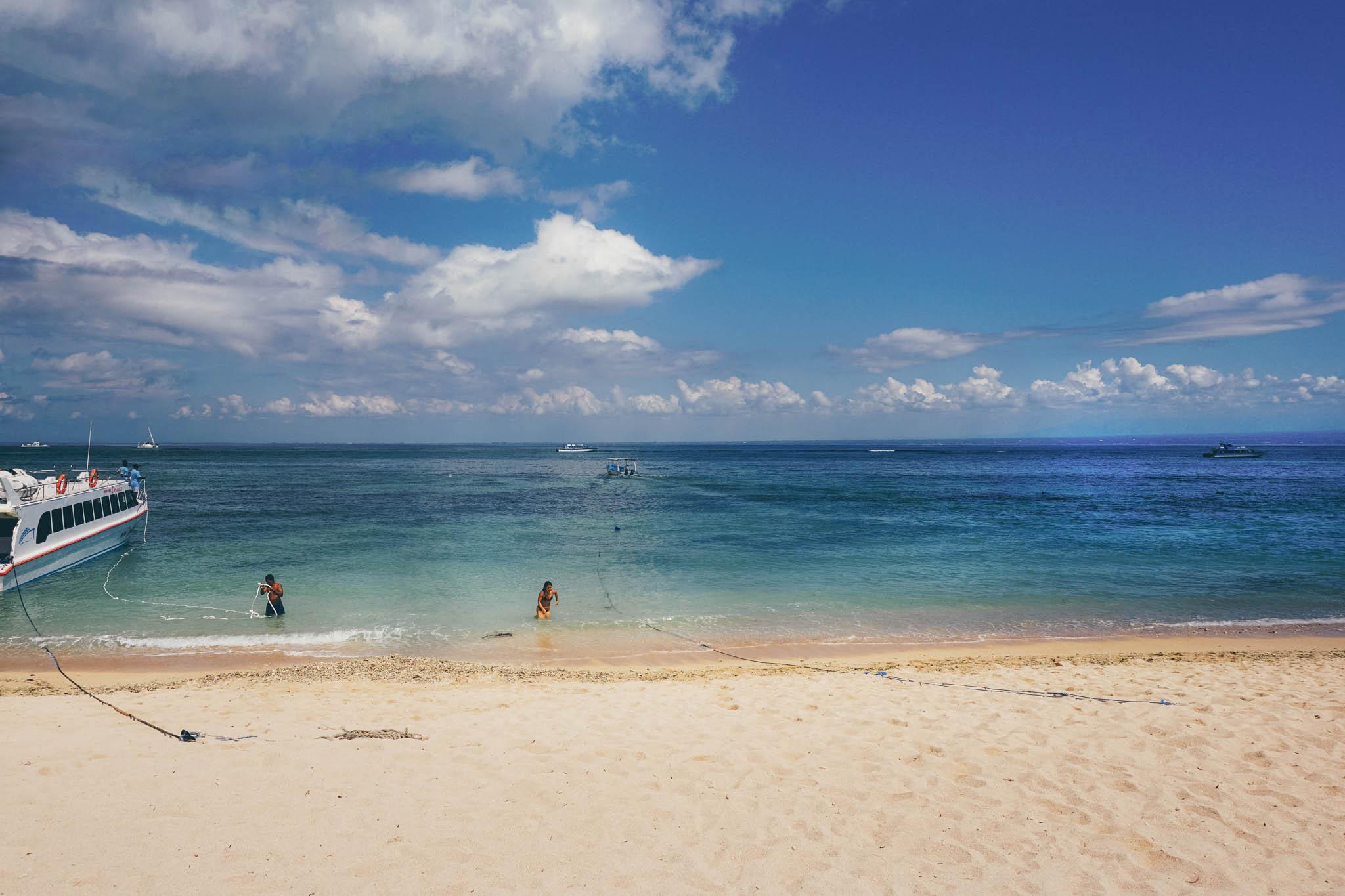 Our view at Lembongan Island