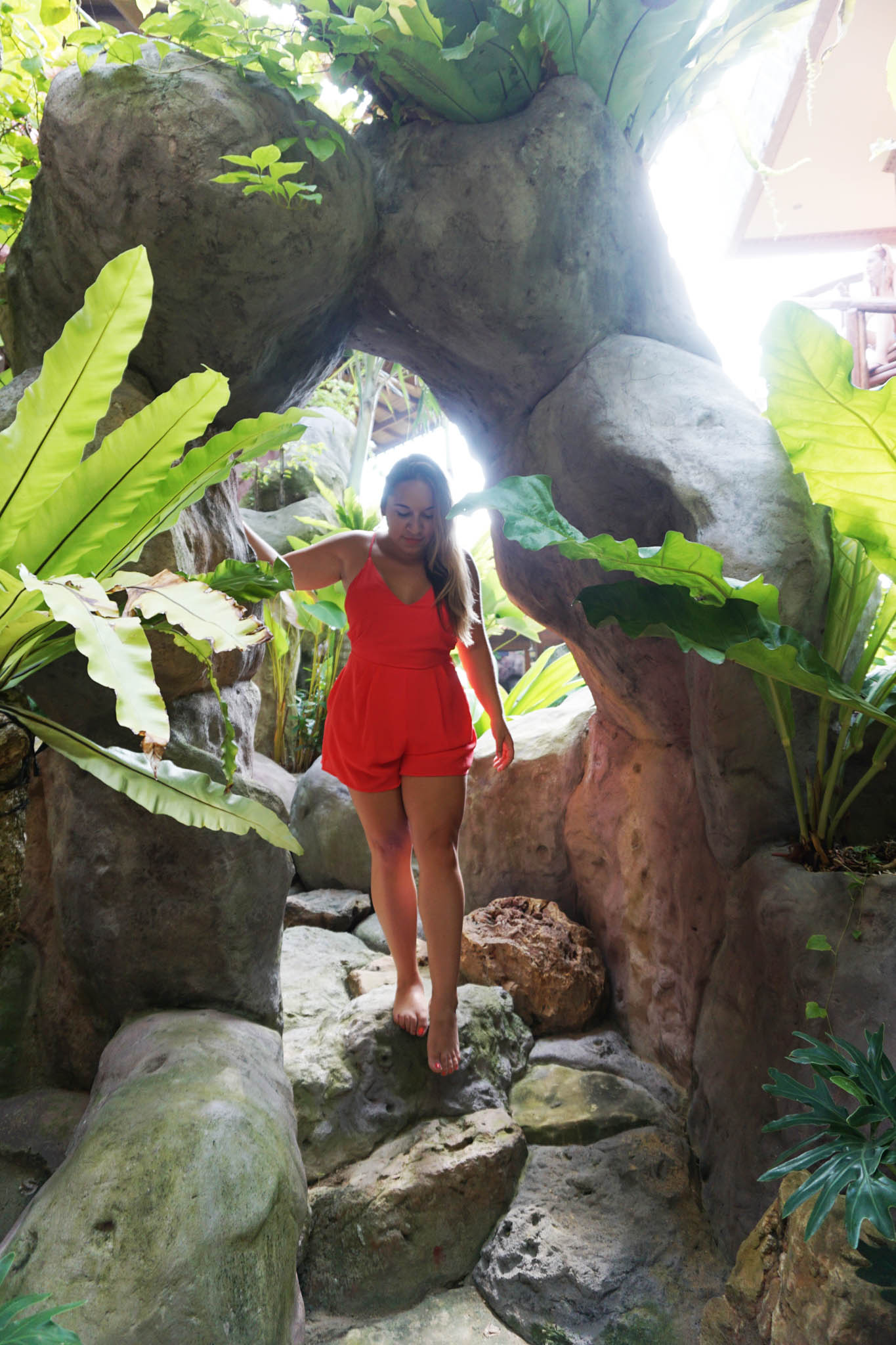 Exploring the unique, beautiful pool area at Udara Bali