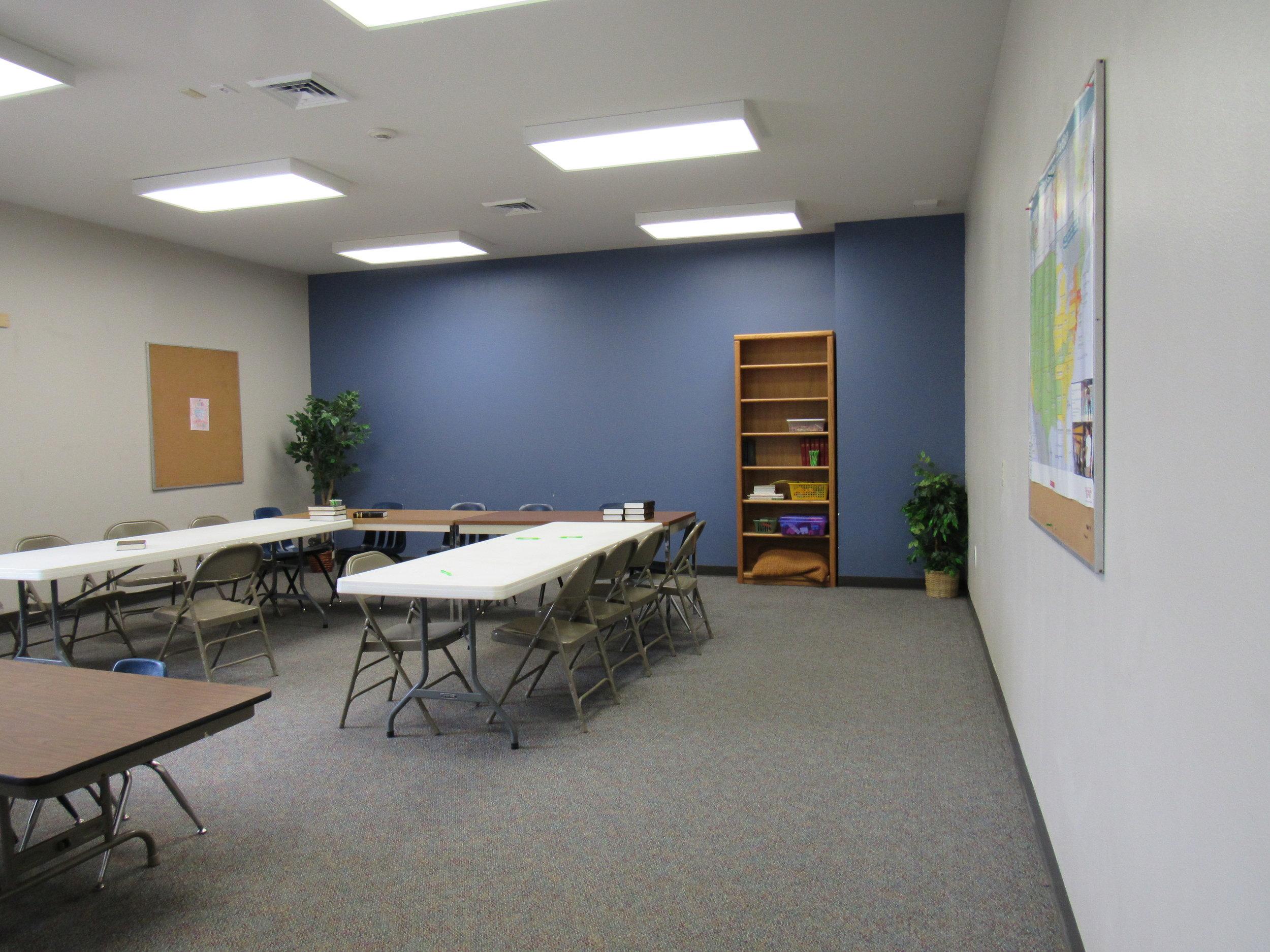The Blue Classroom