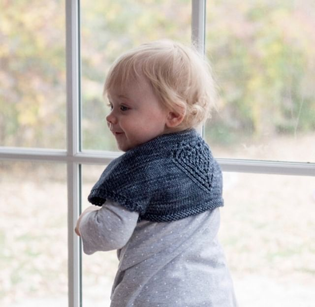 Another charming piece for those knitworthy babies in your life! This is perfech shrug is Saint Catherine of Alexandria by Ranèe Mueller💜  #giftalong2018 #gal2018 #shinetheory #holidayknitting #knitting #knitter #knit #knittersofig #knitstagram #knittersofinstagram #yarn #indiedesigner #indiedesigners #indiedesigns #thevioletpie