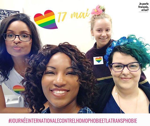 🌈 Aujourd'hui, vendredi 17 mai 2019, marque la journée internationale contre l'homophobie et la transphobie. 🌈  #AfficheTesCouleurs #DenonceLaHaine #Respect #Inclusion #Tolerance #Acceptation  Pour en savoir plus, cliquez ici : https://www.fondationemergence.org/la-journee