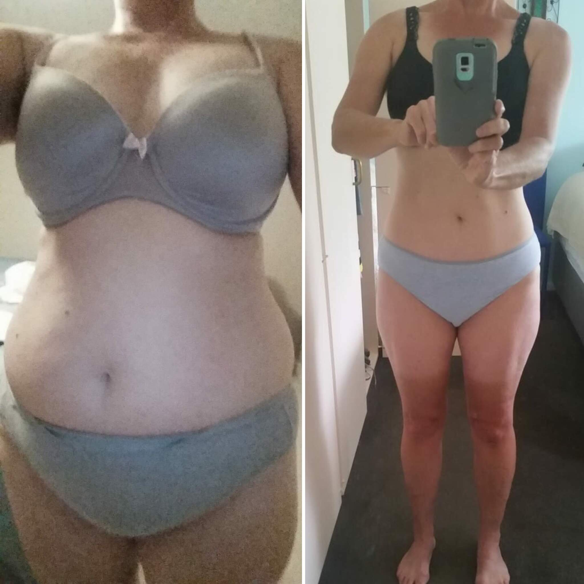 Elspeth's 3 month transformation with online coaching!