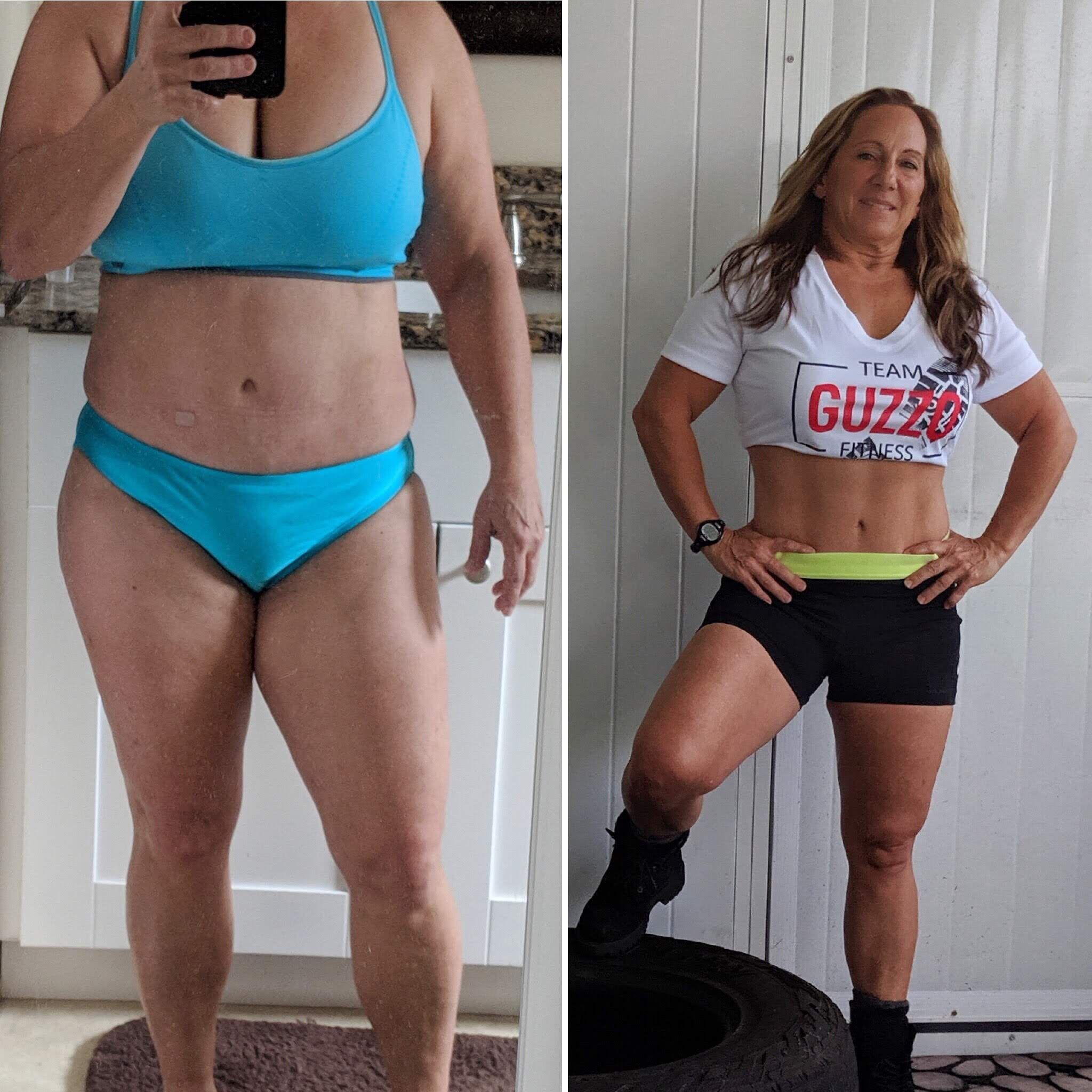Laura's 6 month transformation with 1 on 1 coaching!