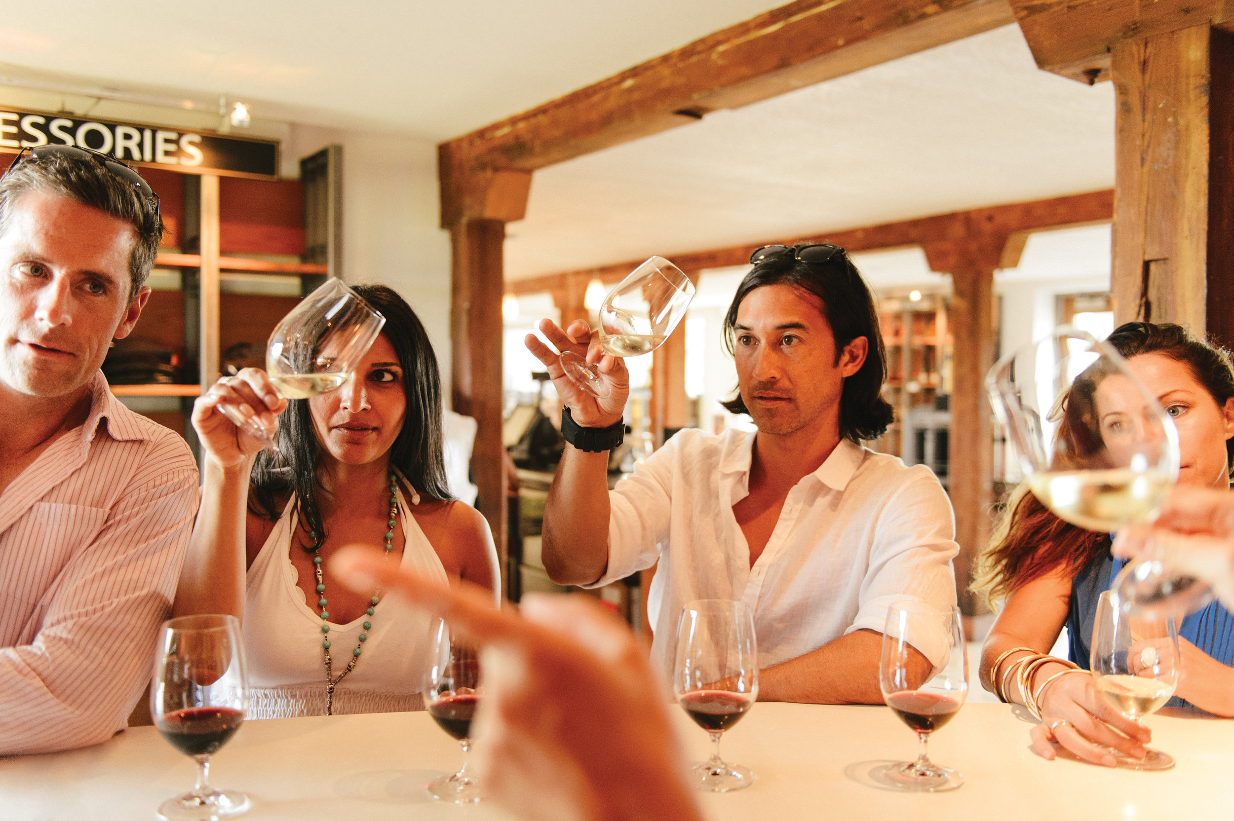 Relaxed tasting rooms offer something for everyone - from first-time tasters to serious afficionados.