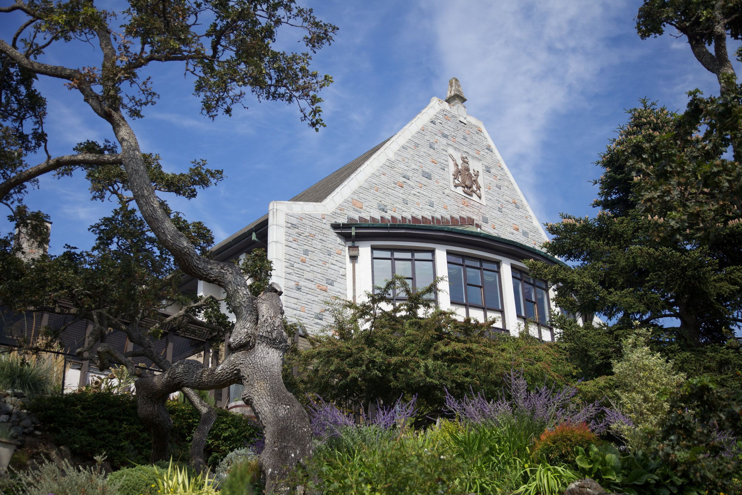 Government House, the official residence of the Lieutenant Governor of British Columbia.