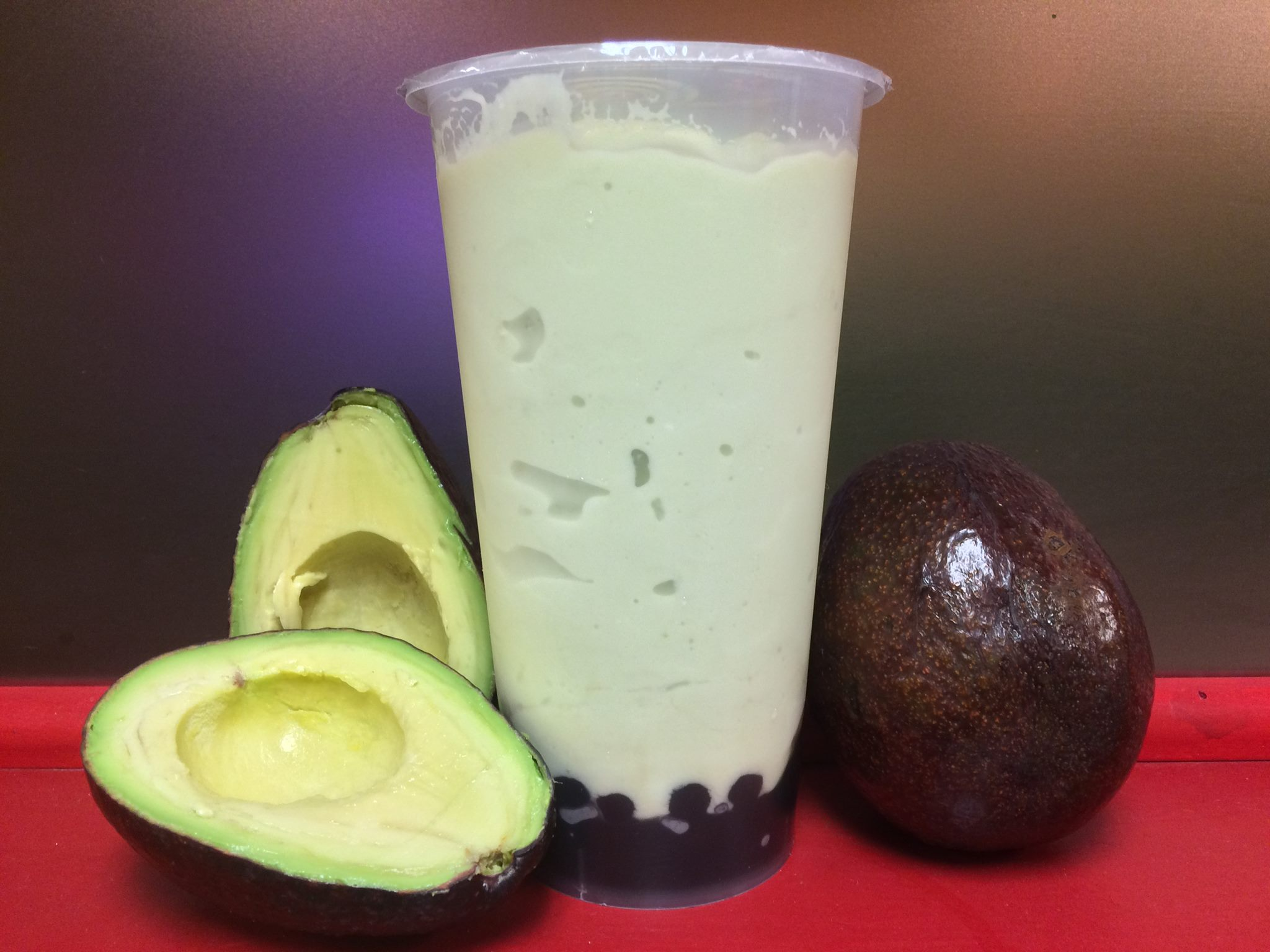 Regular Avocado Shake with Boba