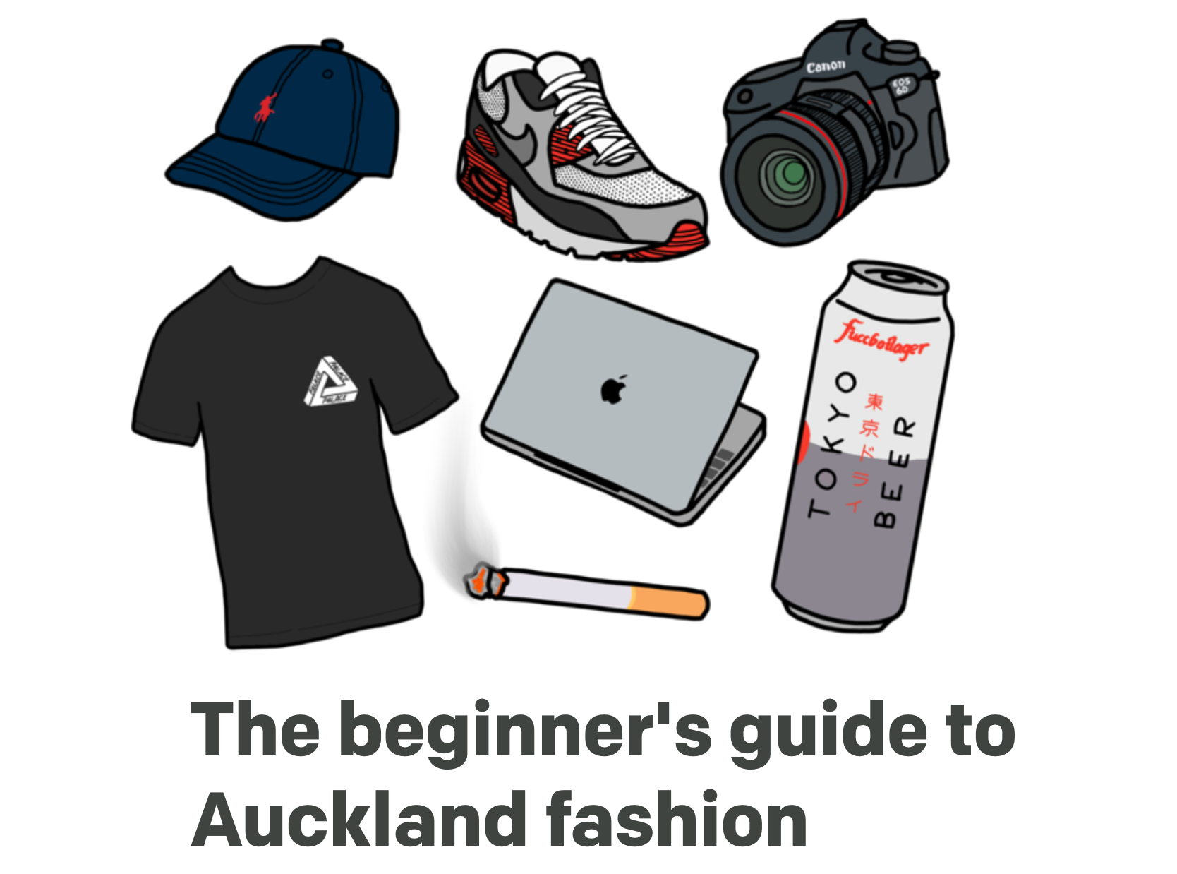 Freelance illustrator - The Wireless/RNZ