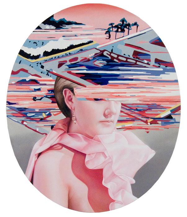 Futurissima , 2011, 0il on canvas, 36x30 inches
