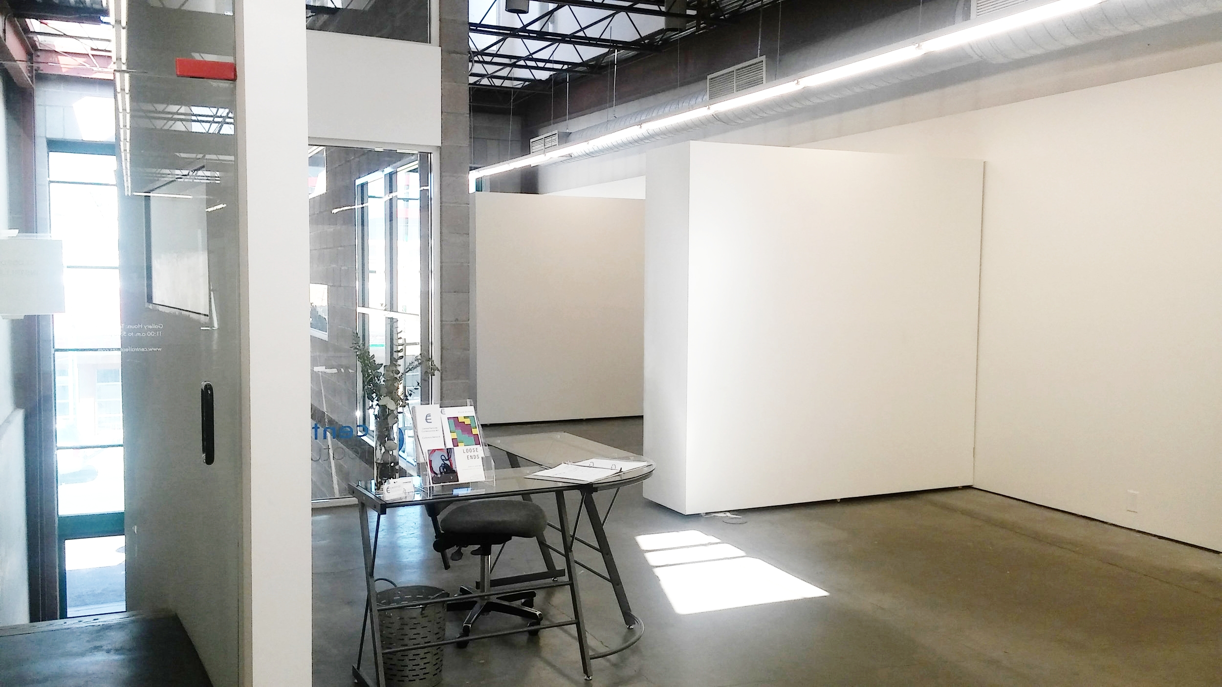 Gallery front desk, and Venture Room entrance