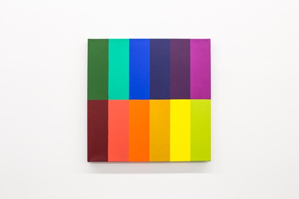 The Tritone ,2017,acrylic on canvas, 24x24 inches