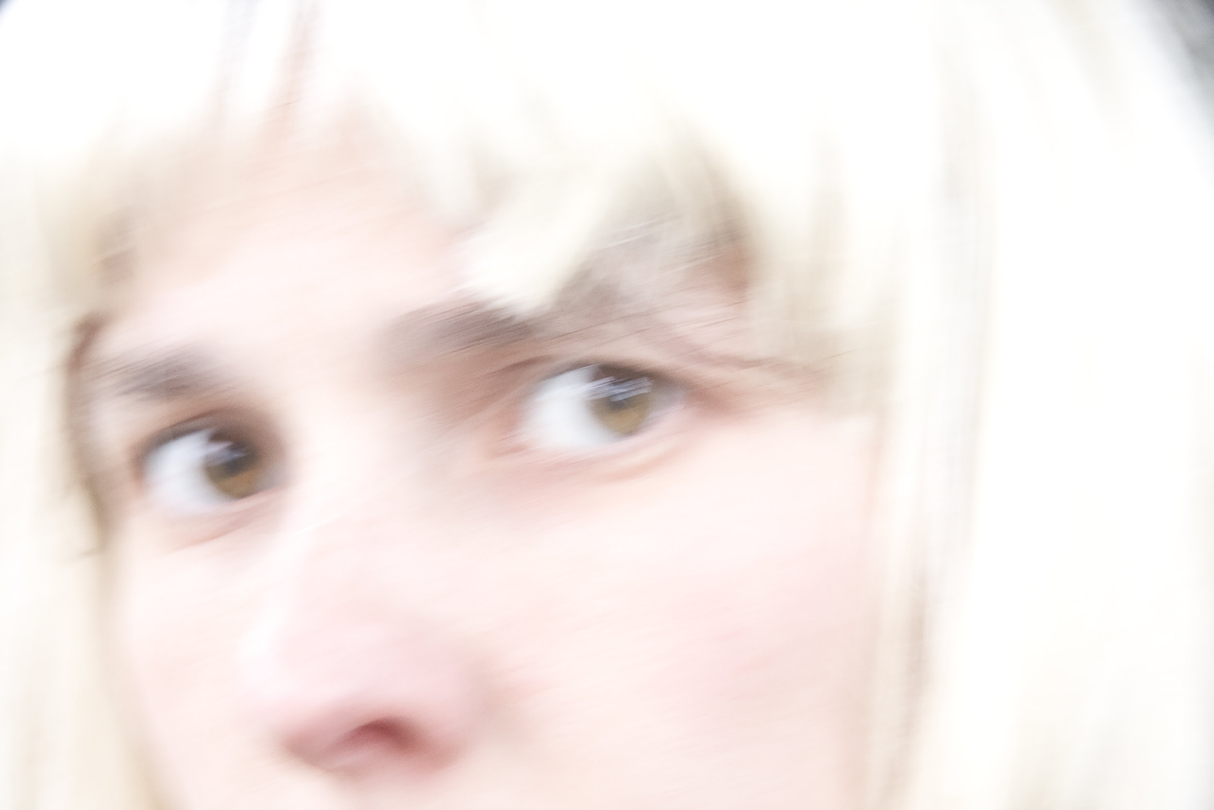 Self Portrait (with   blonde   wig) , 2009archival inkjet print, from  No Trespassing  (2007-2012), 11x15.75 inches