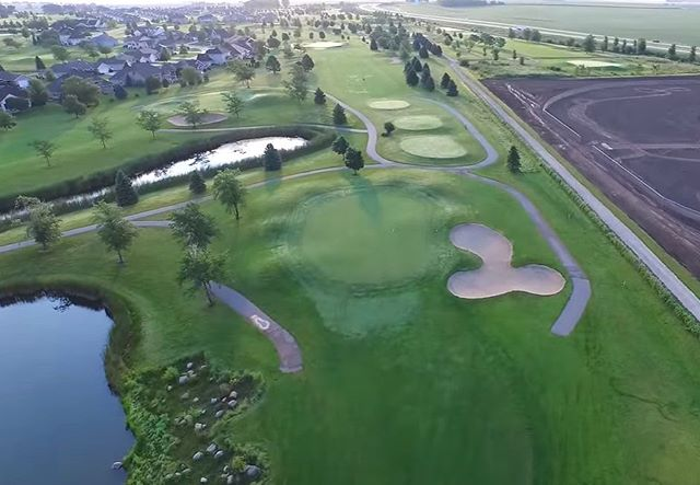 Hi golfers!! Don't forget to make a stop @foxridgegolfclub before 1:00 pm today to get golf + cart for only $30!! #aerialviews #wednesdaygolf #golfeveryday #golfspecial #summergolf #dikeiowa #bluetopridgegolfcourse #golfer #golffun #beautifulgolfcourses