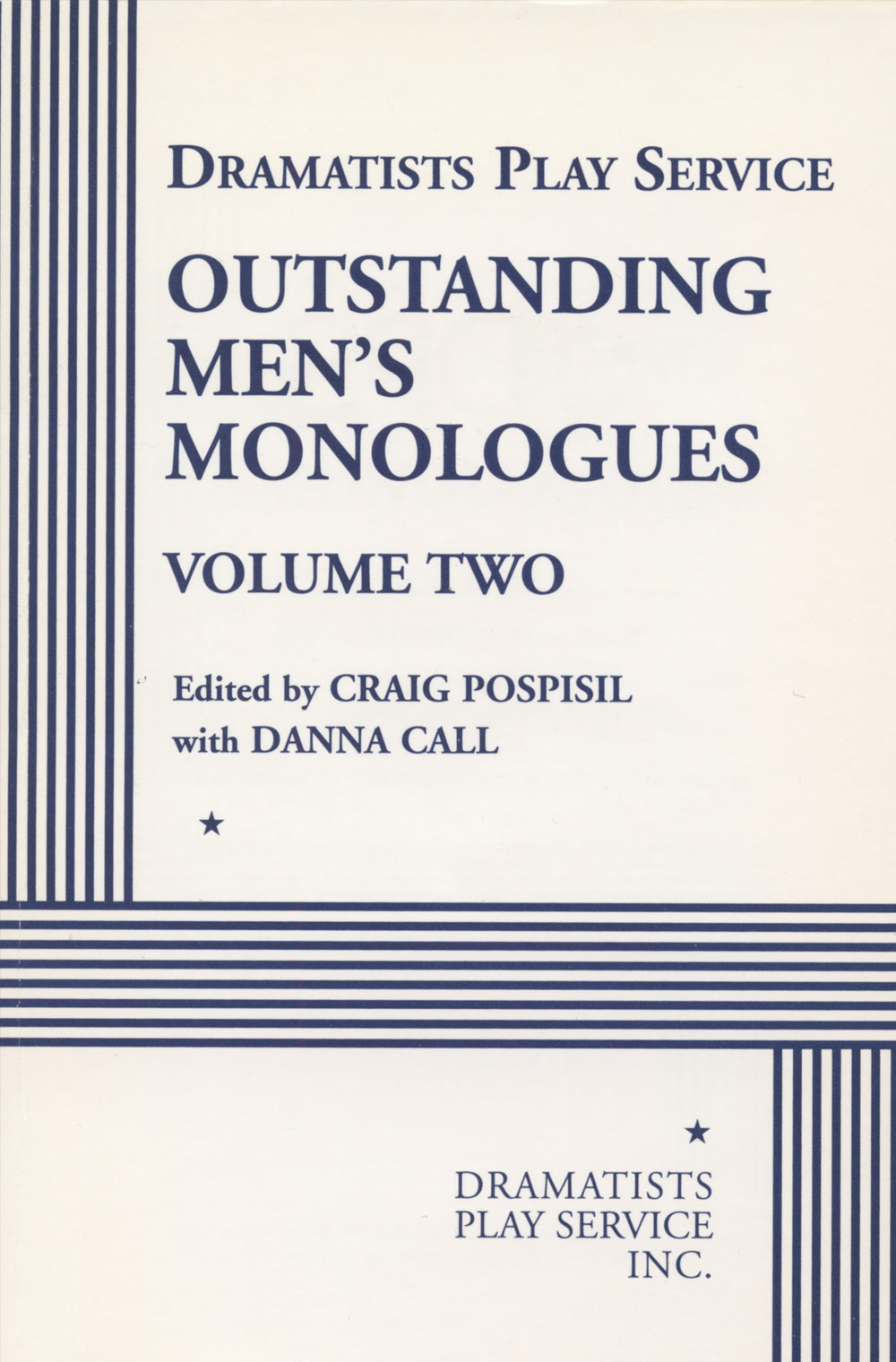 Outstanding Men's Monologues Volume Two
