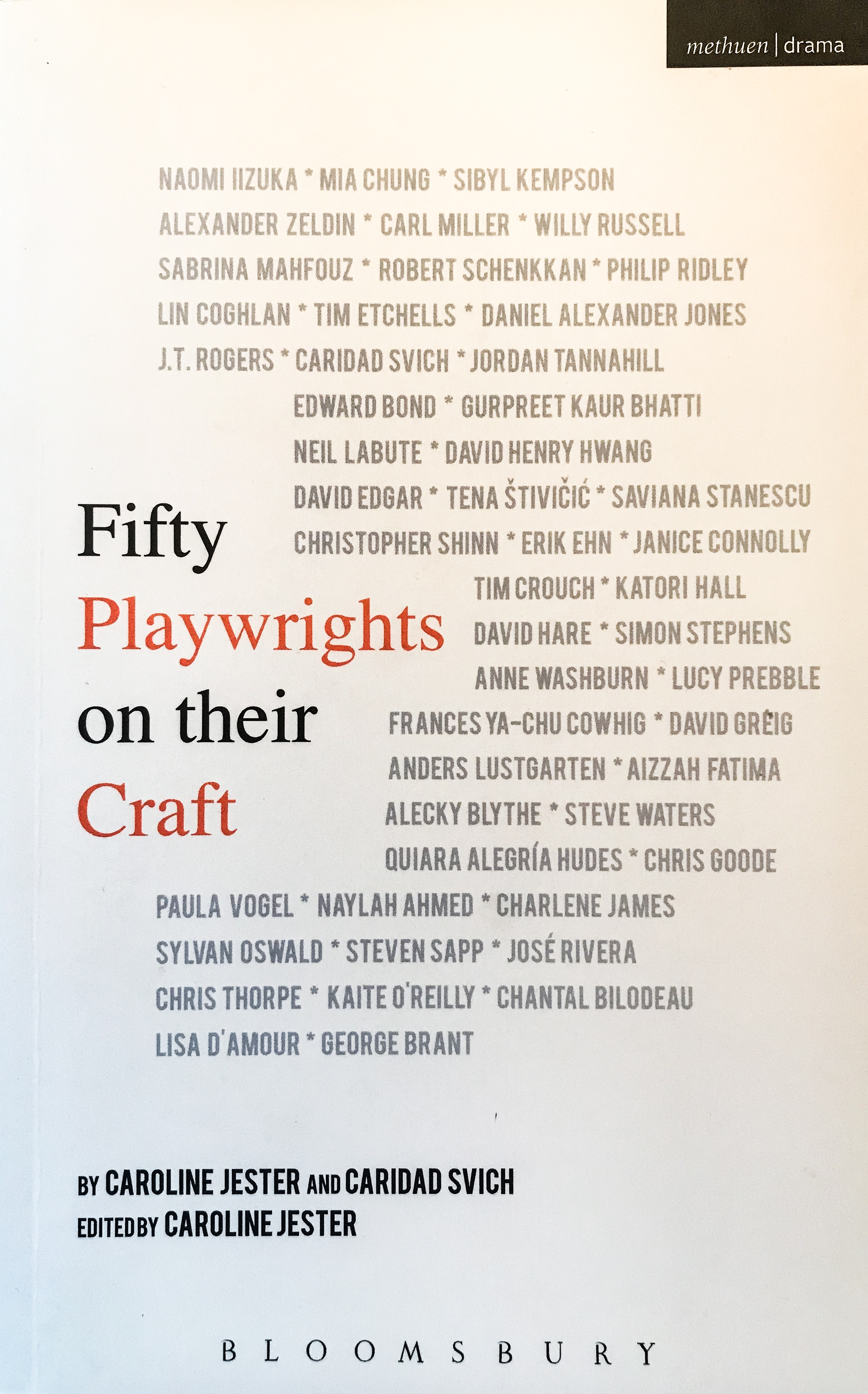 Fifty Playwrights on their Craft