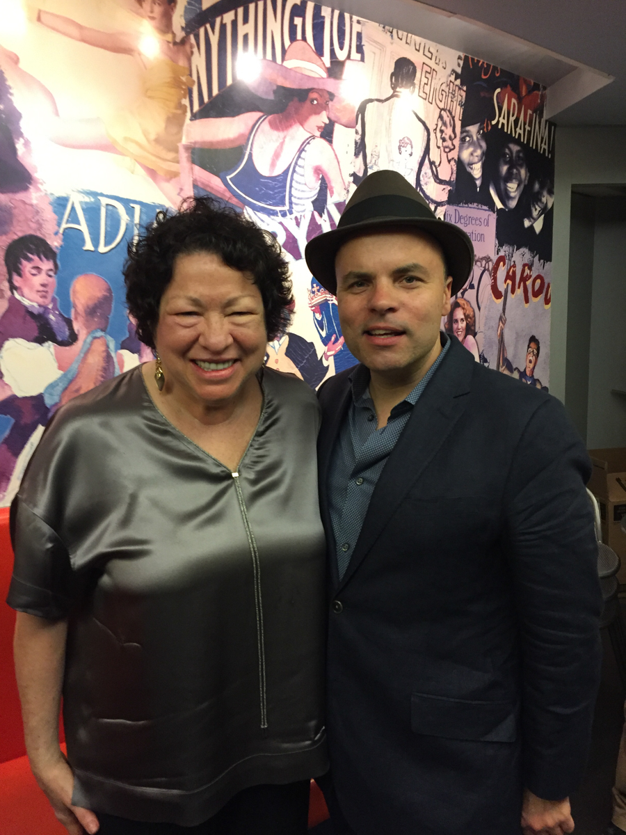 JT and Justice Sonia Sotomayor