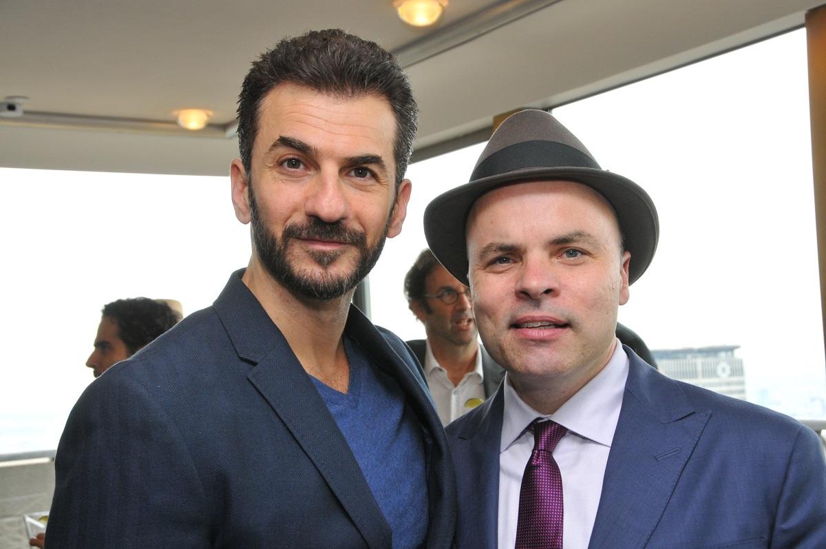 JT and Michael Aronov