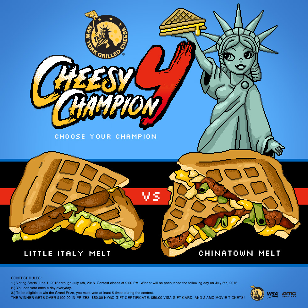 Cheesy Champion 4 Microsite