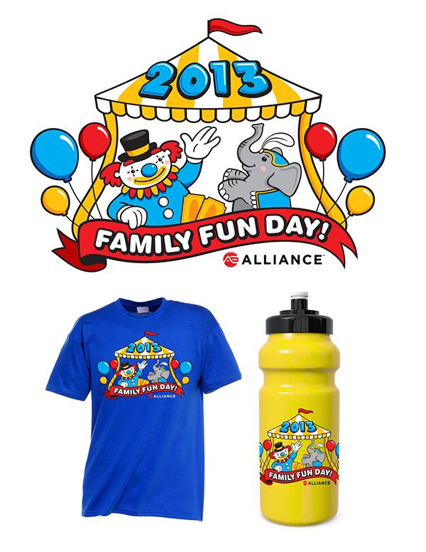 Family Fun Day Logo Design