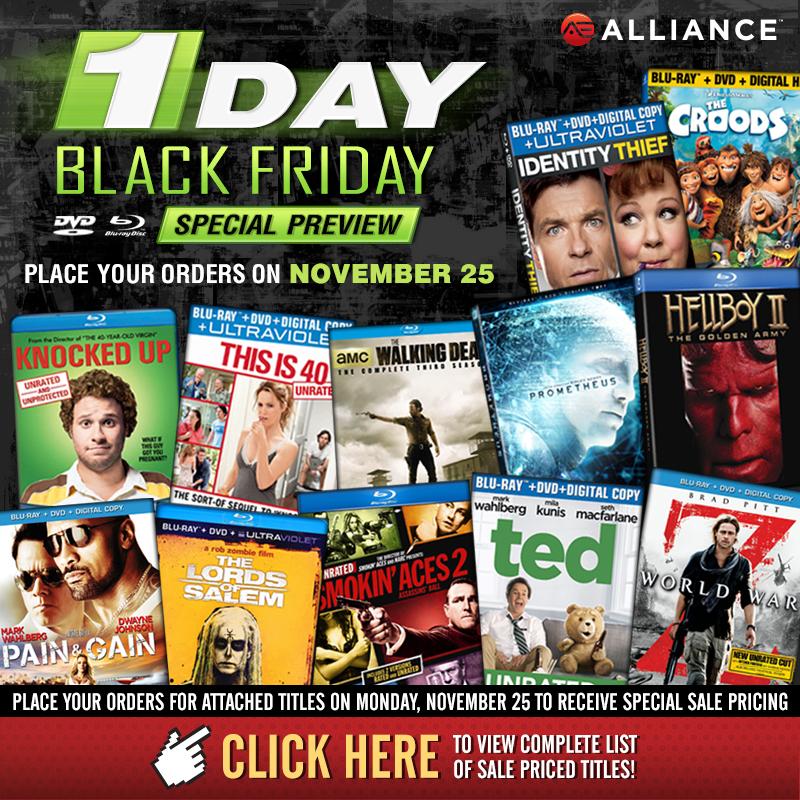 Promotional Black Friday Sale Eblast