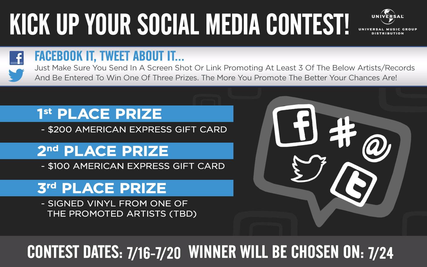 Social Media Contest Eblast Graphic