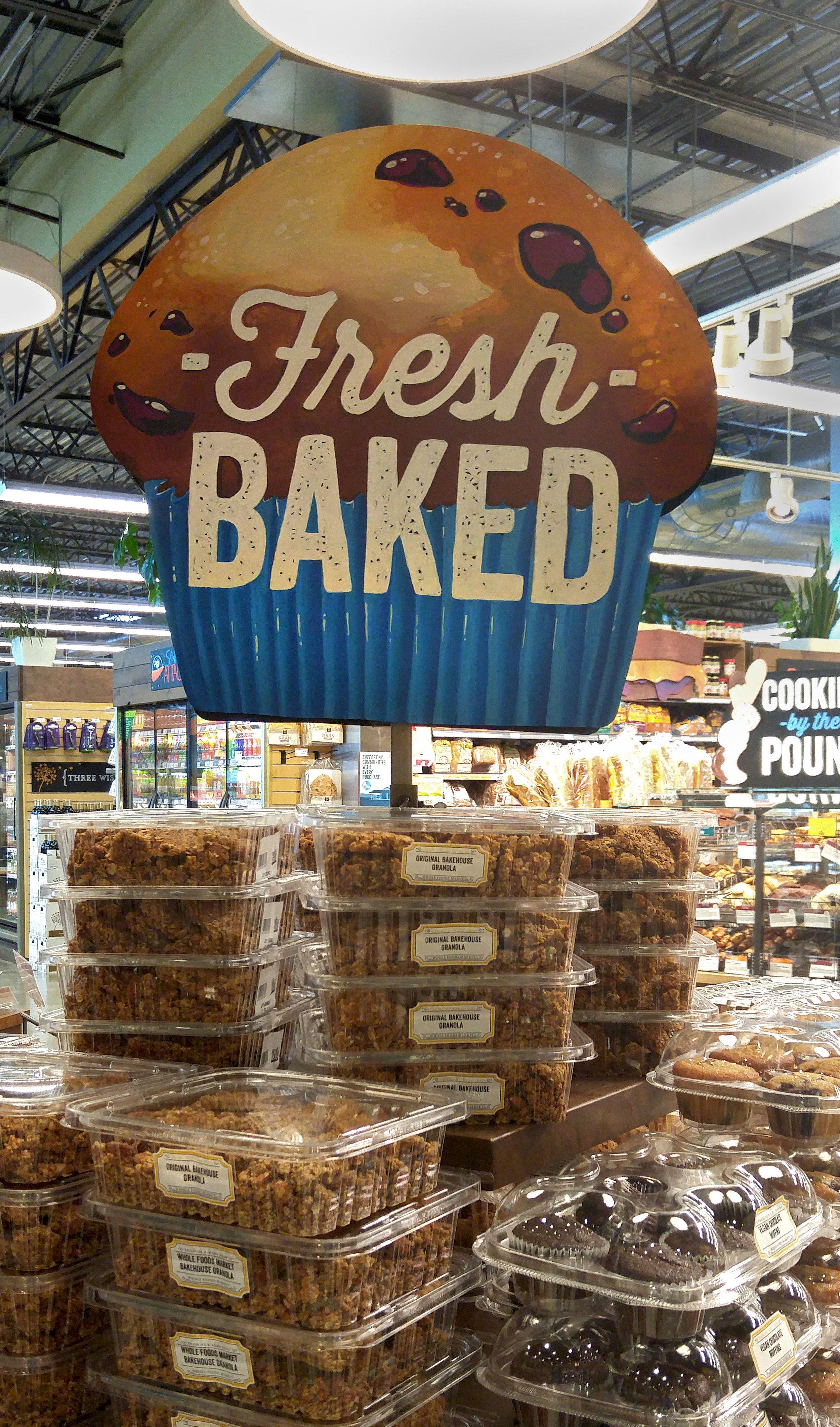 Fresh Baked - Illustrated Product Signage