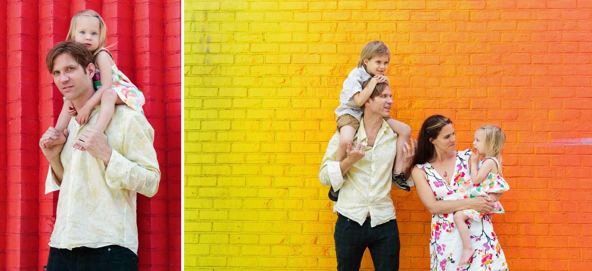 fun lifestyle family photography in dumbo brooklyn