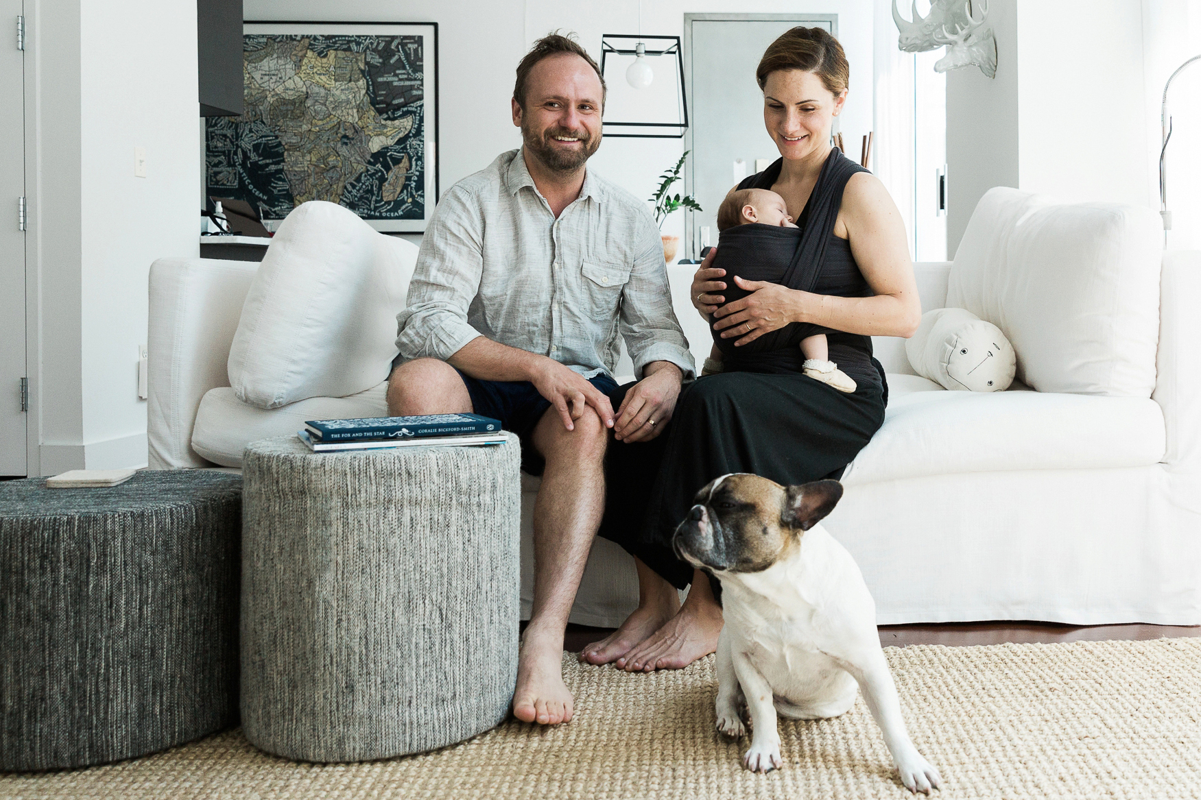 Dumbo Brooklyn In Home family portrait session