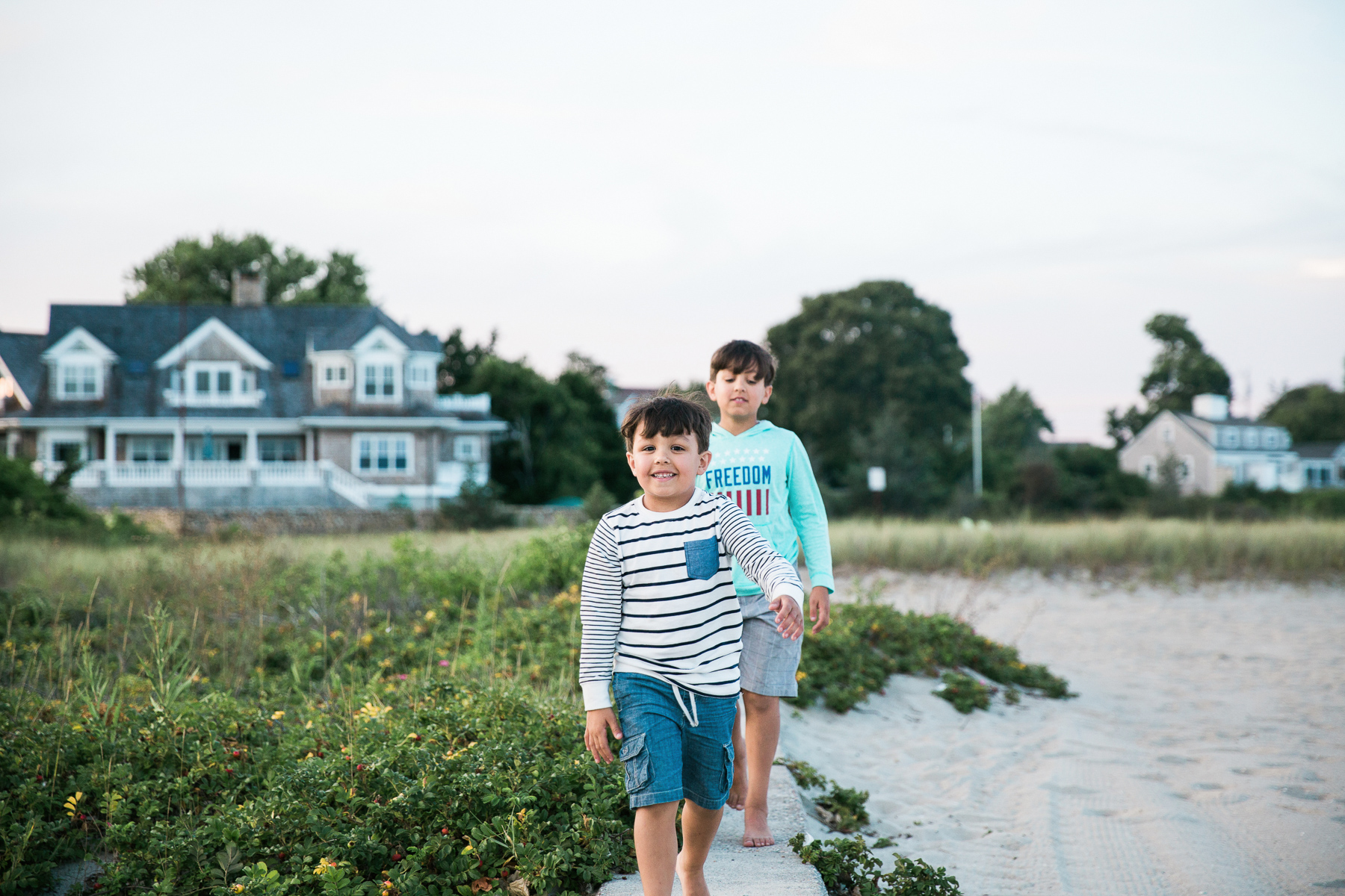 Not Your Typical Cape Cod Family Photo Sesson