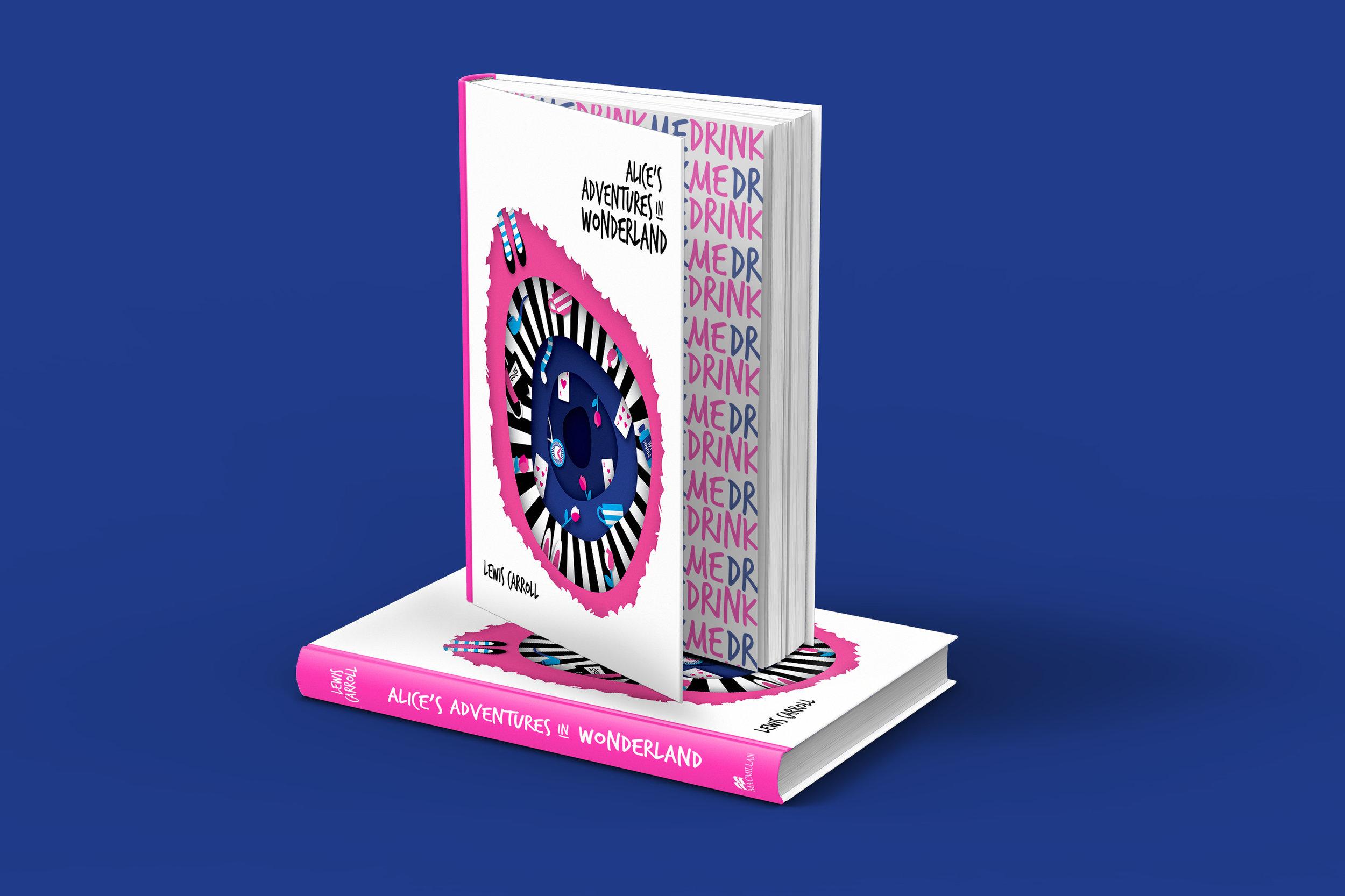 Shanti-Sparrow-alices-adventures-in-wonderland-book-cover-design