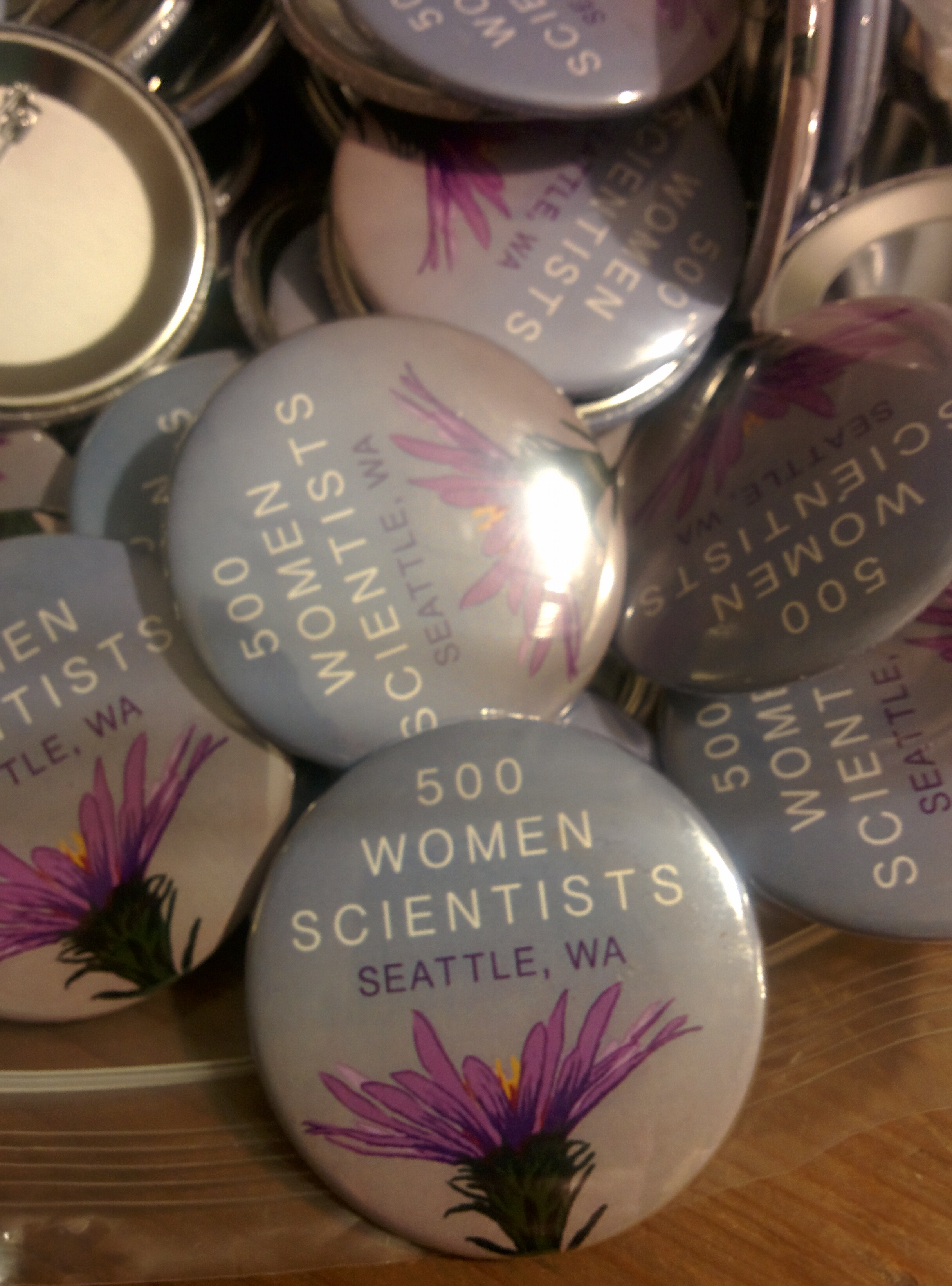 Be sure to get your button at the March!