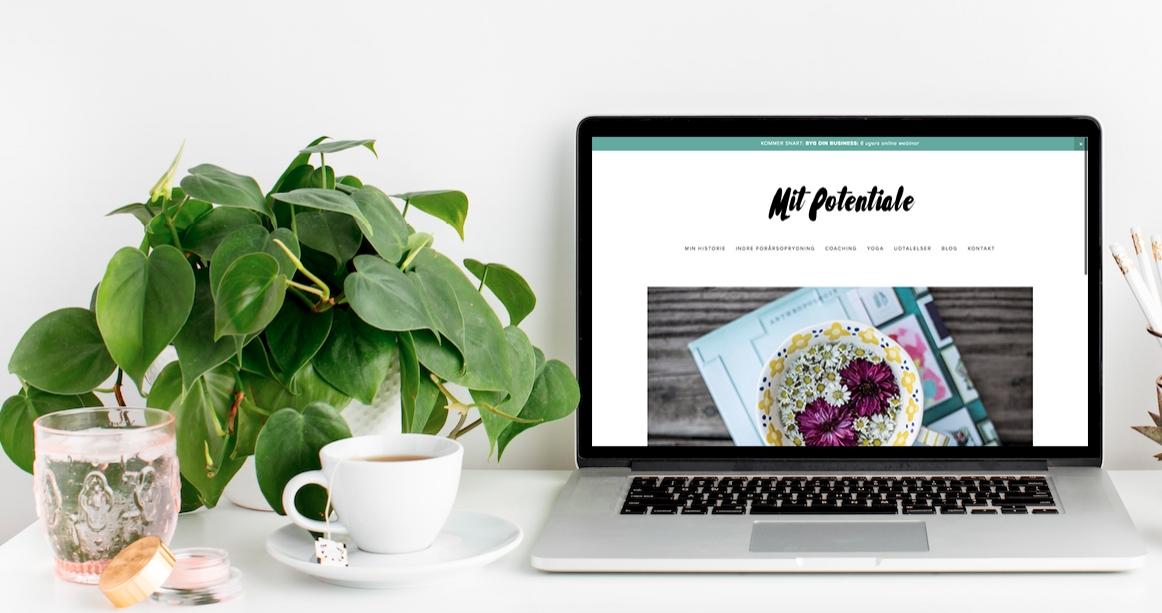 Website til @mitpotentiale
