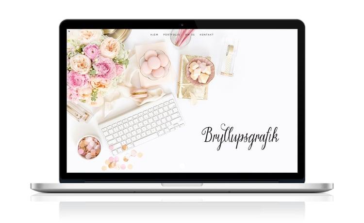 web til @bryllupsgrafik