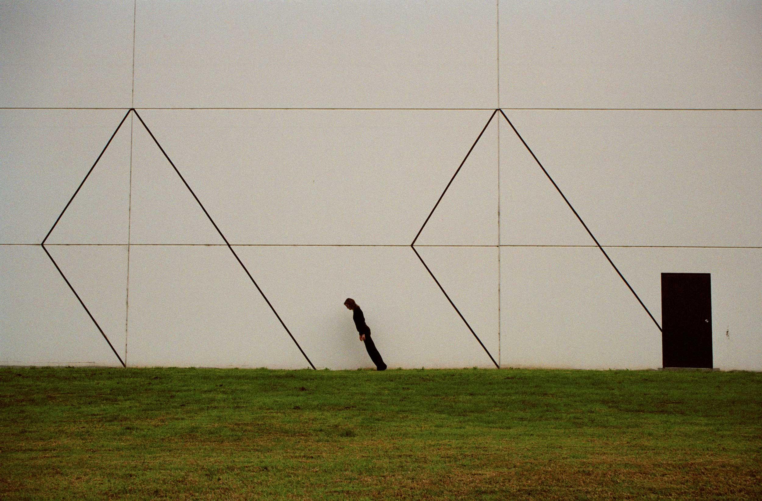 White Wall II , 35mm digital scan, 2007