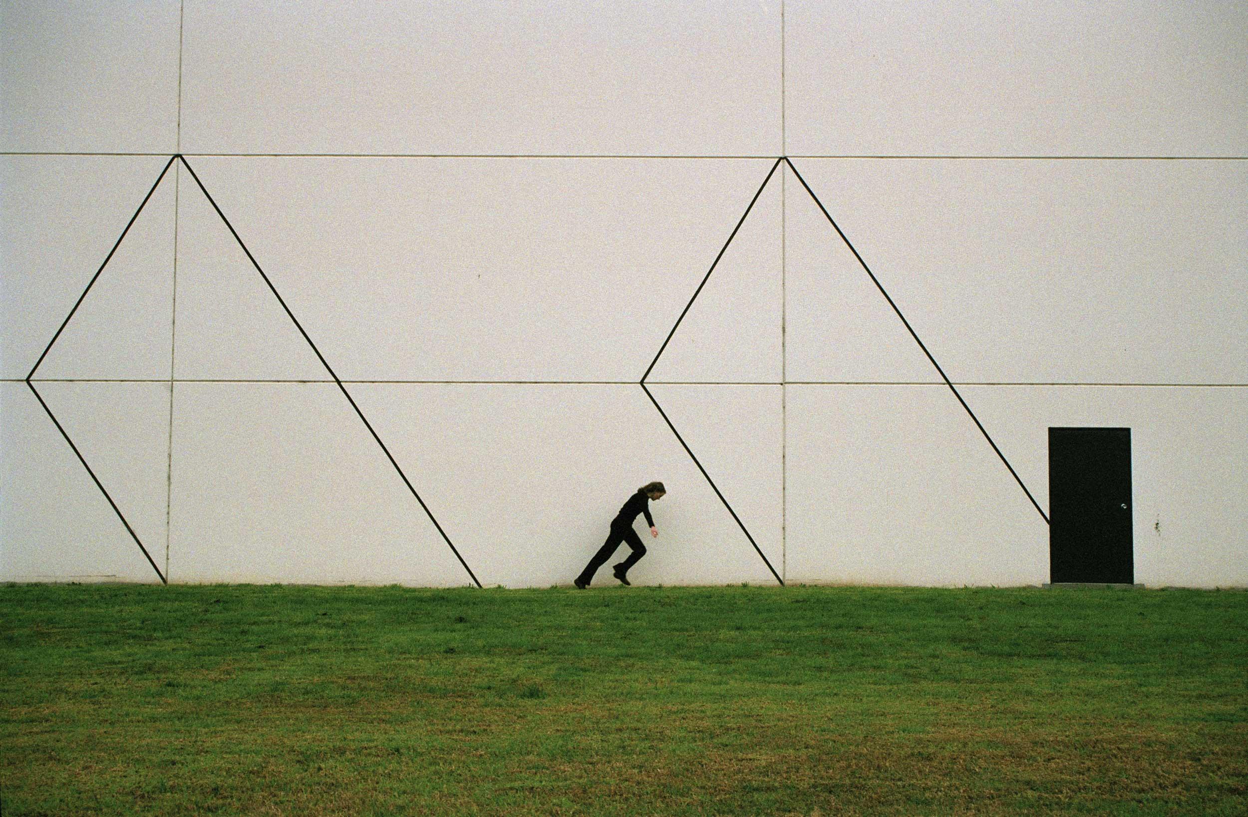 White Wall I , 35mm digital scan, 2007