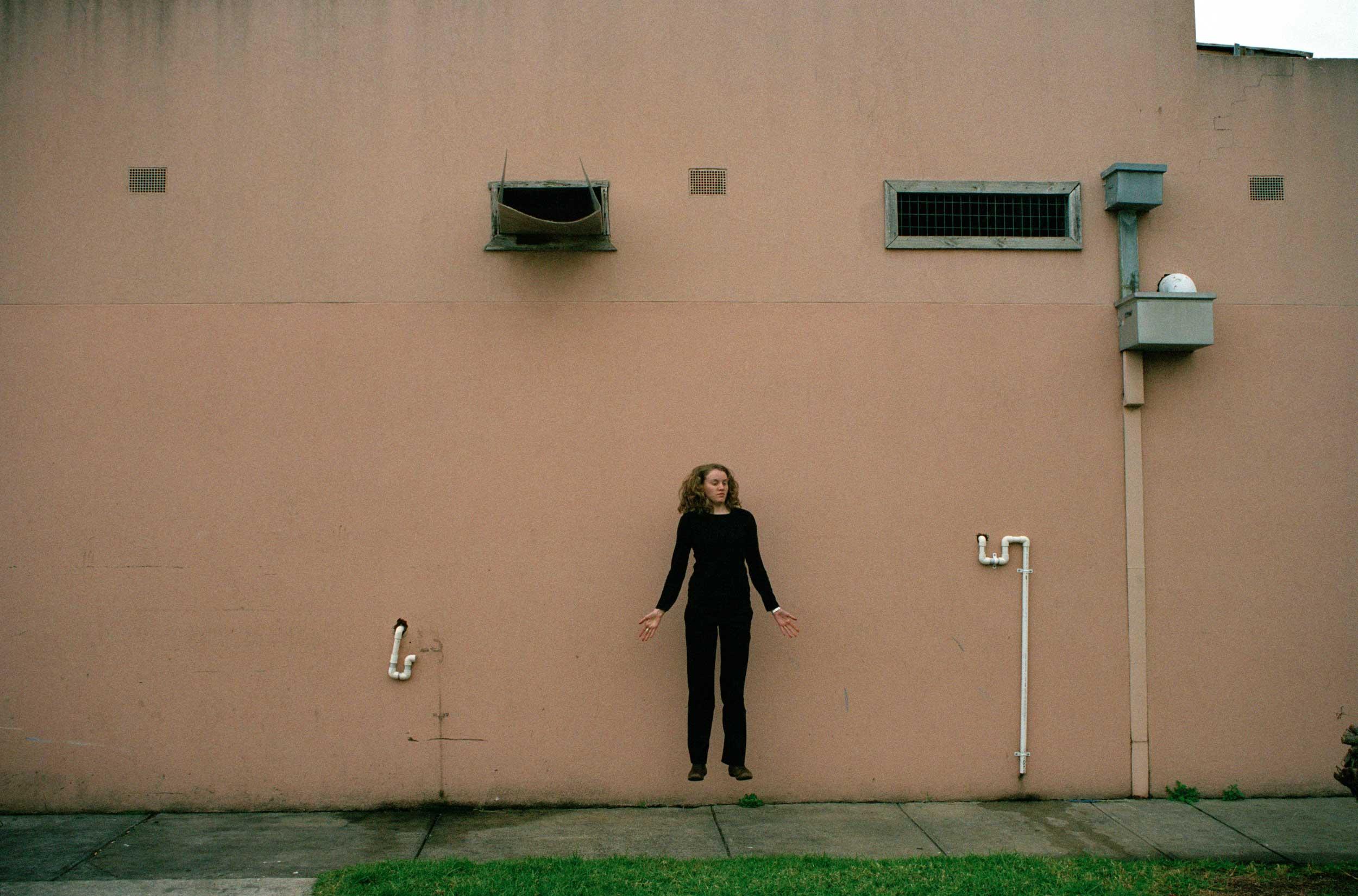 Pink Wall , 35mm digital scan, 2007